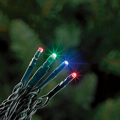 Image for 160 Multicolour Multi-Function LED Christmas Lights from StoreName