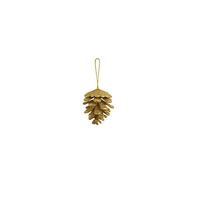 Image for Glitter Pinecone Bauble from StoreName