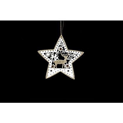 Image for Laser Cut Decorative Paper Star from StoreName