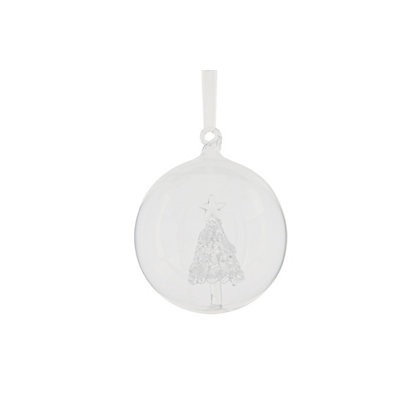 Image for Heirloom Glass Christmas Tree Bauble from StoreName