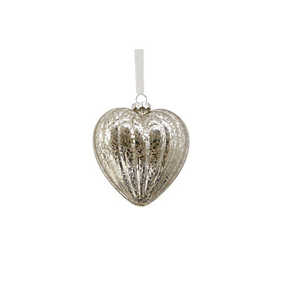 Image for Mercury Glass Heart Tree Dec from StoreName