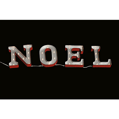 Image for Pre Light Up Noel Sign from StoreName