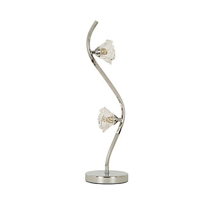 Image for Flower Curved Table Lamp from StoreName