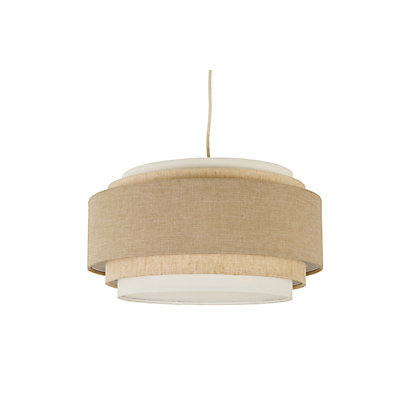 Image for 5 Tier Linen Effect Lamp Shade - Natural from StoreName
