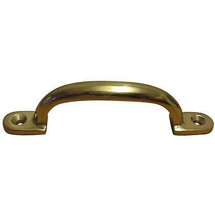 Image for Siro Pull Handle - Polished Brass from StoreName