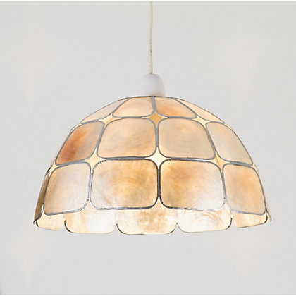 Image for Capiz Dome Pendant Lamp Shade from StoreName