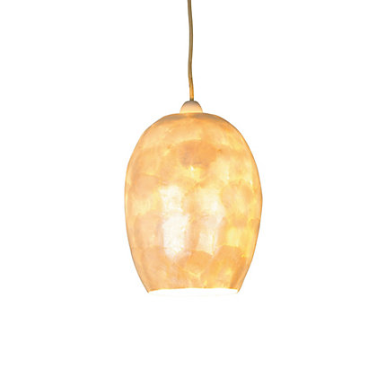 Image for Mother Of Pearl Easyfit Lamp Shade from StoreName