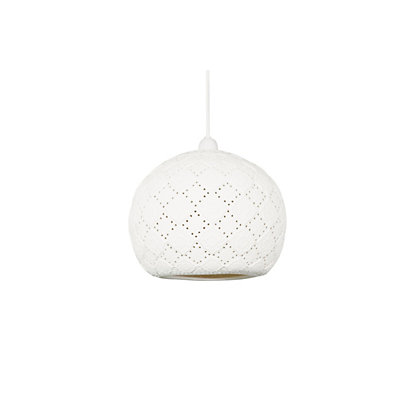 Image for Ada Ceramic Pattern Easyfit Lamp Shade from StoreName