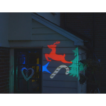 Image for Multicolour Outdoor Christmas Projector from StoreName