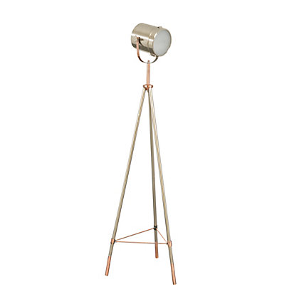 Image for Delicate Camera Head Tripod Floor Lamp from StoreName