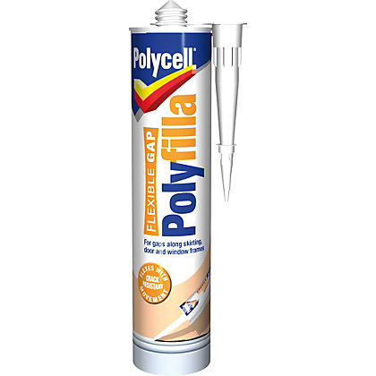 Image for Polycell Flexi Gap Polyfilla Cartridge - 290ml from StoreName