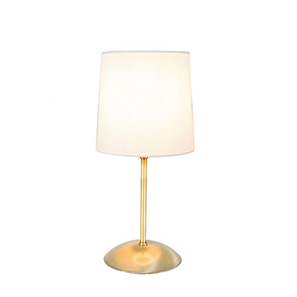 Image for Aria Antique Brass Table Lamp from StoreName