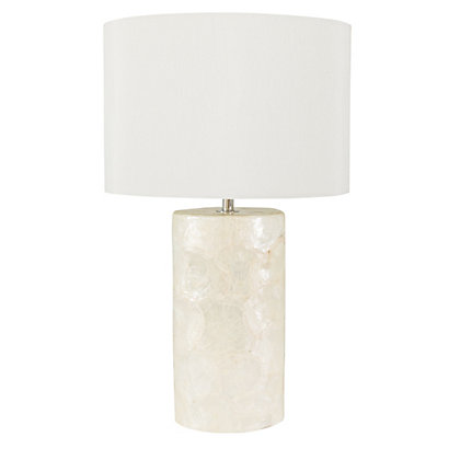Image for Pearl Oval Base Table Lamp from StoreName