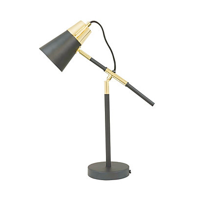 Image for Black And Gold Desk Lamp from StoreName