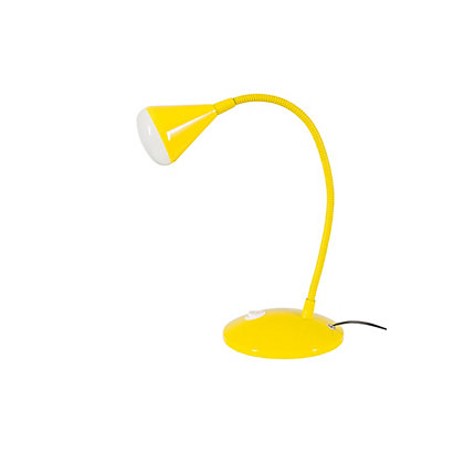 Image for Callum Integrated LED Adjustable Desk Lamp - Yellow from StoreName