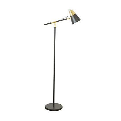 Image for Black And Gold Floor Lamp from StoreName