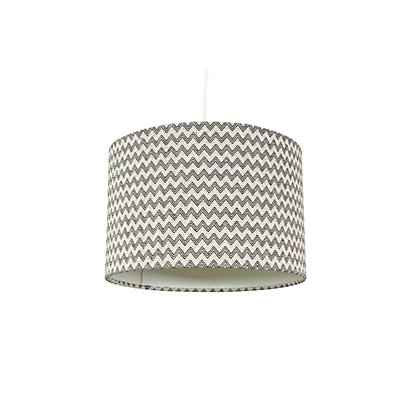 Image for vienna 30cm Zig Zag Woven Lamp Shade from StoreName