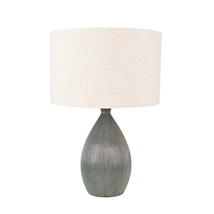 Image for Jamila Scratch Ceramic Table Lamp from StoreName