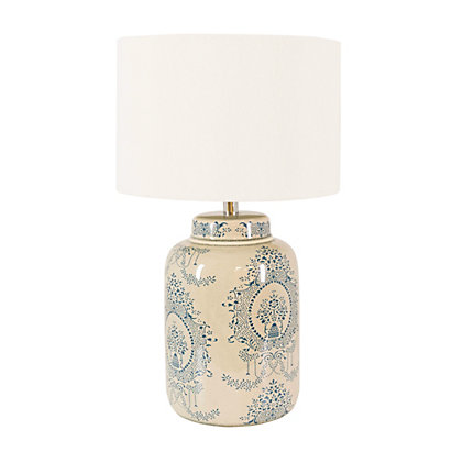 Image for Pattern Design Ceramic Table Lamp from StoreName