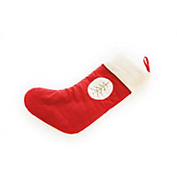 Red Traditional Tree Stocking