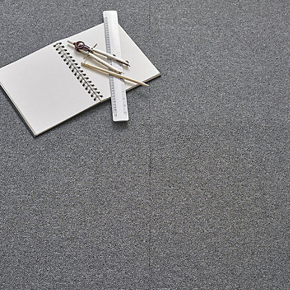 Image for Vitrex Value Carpet Tile Grey from StoreName