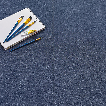 Image for Vitrex Premium Carpet Tile Blue from StoreName