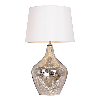Image for Mercury Glass Table Lamp from StoreName