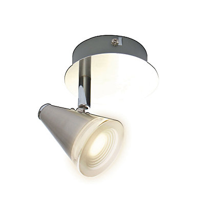 Image for Integrated LED Cone Single Spotlight from StoreName