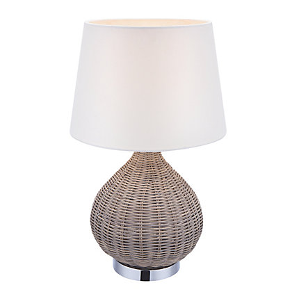 Image for Stephiane Rattan Table Lamp from StoreName