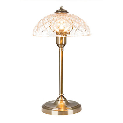 Image for Madison Glass Table Lamp from StoreName