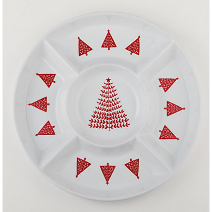 Image for Homespun 5 Section Snack Platter from StoreName