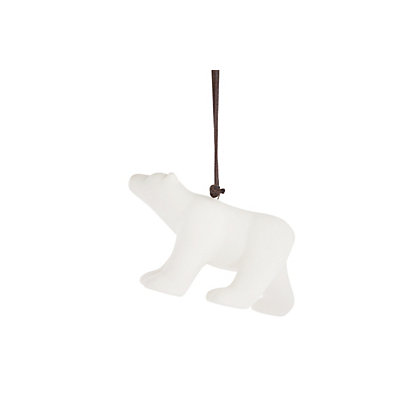 Image for Porcelain Polar Bear Hanging Decoration from StoreName