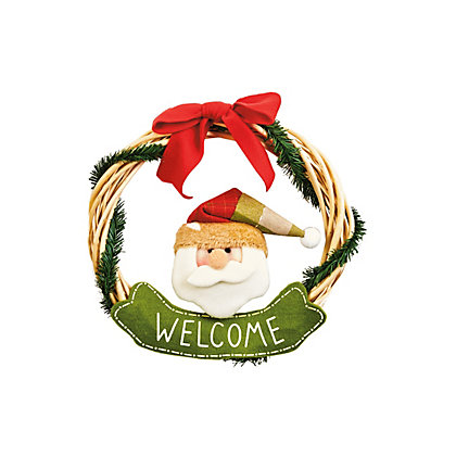 Image for Santa Wreath from StoreName