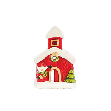 Image for Snowman House Tealight Holder from StoreName