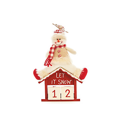 Image for Snowman Countdown to Christmas Calendar from StoreName