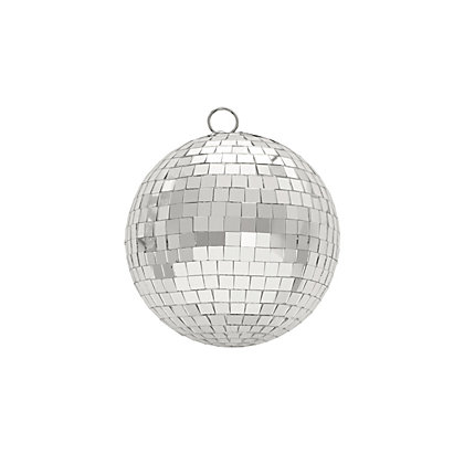 Image for Silver Mirrorball Bauble from StoreName