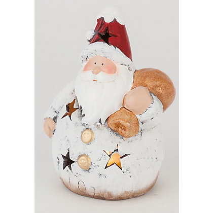Image for Chubby Santa Ornament from StoreName