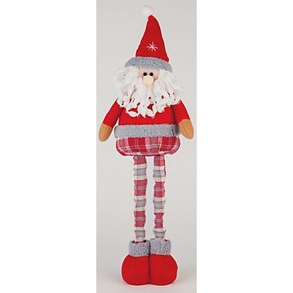 Image for Homespun Small Telescopic Standing Santa from StoreName