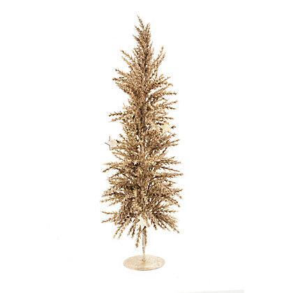 Image for Golden Glitter Desktop Christmas Tree from StoreName