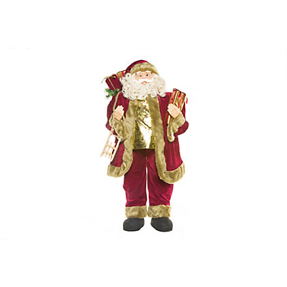 Image for Large Standing Santa Figure from StoreName