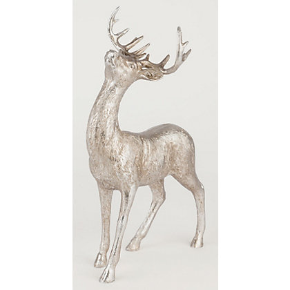 Image for Antique Gold Resin Stag from StoreName