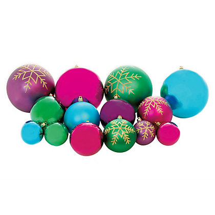 Image for Paradise Assorted Baubles 60 pack from StoreName