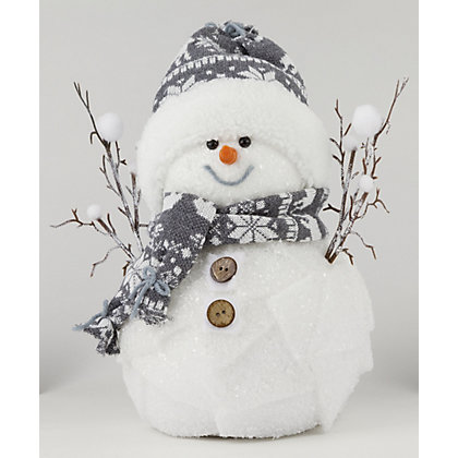 Image for Medium Happy Snowman from StoreName