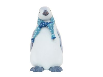 Image for Large Standing Penguin with Blue Scarf from StoreName