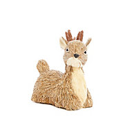 Bristle Sitting Reindeer