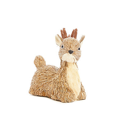 Image for Bristle Sitting Reindeer from StoreName