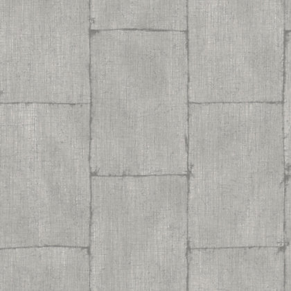 Image for Vertical Brick Silver Wallpaper from StoreName
