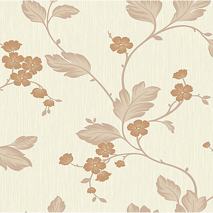 Image for Gran Deco Bella Rust Wallpaper from StoreName