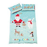 Festive Fun Single Duvet Cover Set