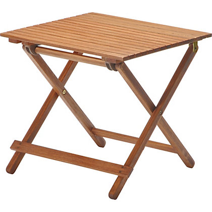 Image for Peru Wooden Garden Side Table from StoreName